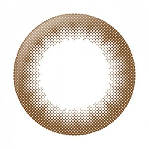 リルムーンワンデー チョコレート装着画像
