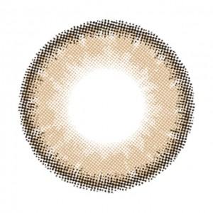 ルナナチュラル カカオの口コミ・レポの装着画像・レンズ画像