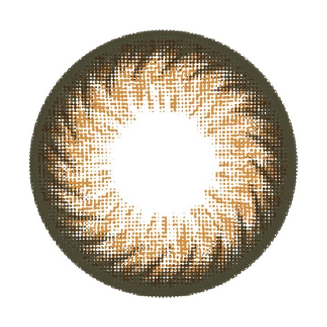 マーブルバイラグジュアリー ハニーマカロンの装着画像・レンズ画像・パッケージ箱画像レポ