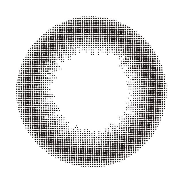 レヴィア ワンデー サークル ブラックの装着画像・レンズ画像・パッケージ箱画像レポ