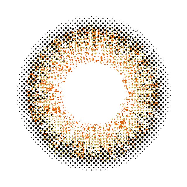 プティアワンデー エルムヘーゼルの装着画像・レンズ画像・パッケージ箱画像レポ