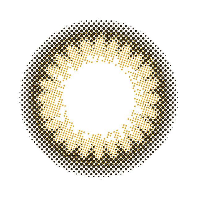 プティアワンデー セピアピクトの装着画像・レンズ画像・パッケージ箱画像レポ