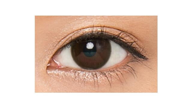 セレクトフェアリーユーザーセレクト ダークブラウンの装着画像・レンズ画像・パッケージ箱画像レポ