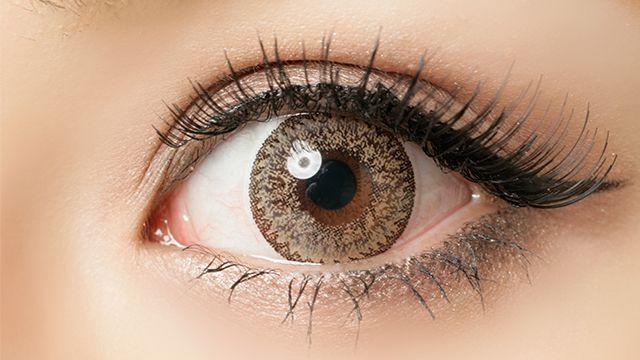 エンジェルカラークォータービジョン ヌーディークォーターの装着画像・レンズ画像・パッケージ箱画像レポ