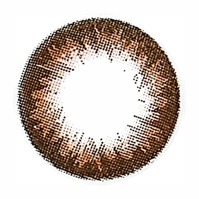シークレットキャンディーマジックプレミア セピアの装着画像・レンズ画像・パッケージ箱画像レポ
