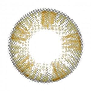 キャンディーマジックヴィクトリアワンデー ヘーゼルの装着画像・レンズ画像・パッケージ箱画像レポ