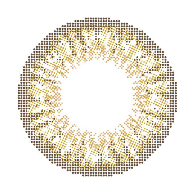 モテコン×チョキチョキガールズ ミルクティーアッシュの装着画像・レンズ画像・パッケージ箱画像レポ