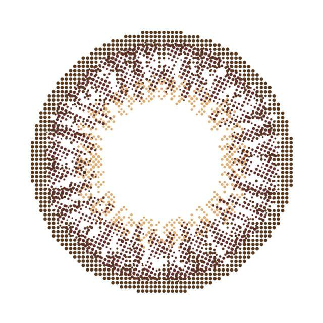 モテコン×チョキチョキガールズ ショコラアッシュの装着画像・レンズ画像・パッケージ箱画像レポ