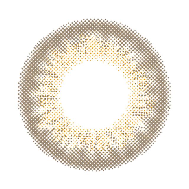 レヴィア ワンデー カラー ペールミラージュの装着画像・レンズ画像・パッケージ箱画像レポ