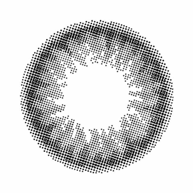 エンジェルカラー バンビシリーズ ナチュラル ナチュラルブラックの装着画像・レンズ画像・パッケージ箱画像レポ