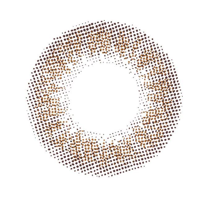 リッチスタンダード プレミアム ミラノカーキの装着画像・レンズ画像・パッケージ箱画像レポ