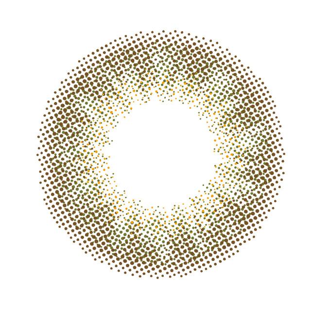 エヌズコレクション 抹茶ラテの装着画像・レンズ画像・パッケージ箱画像レポ